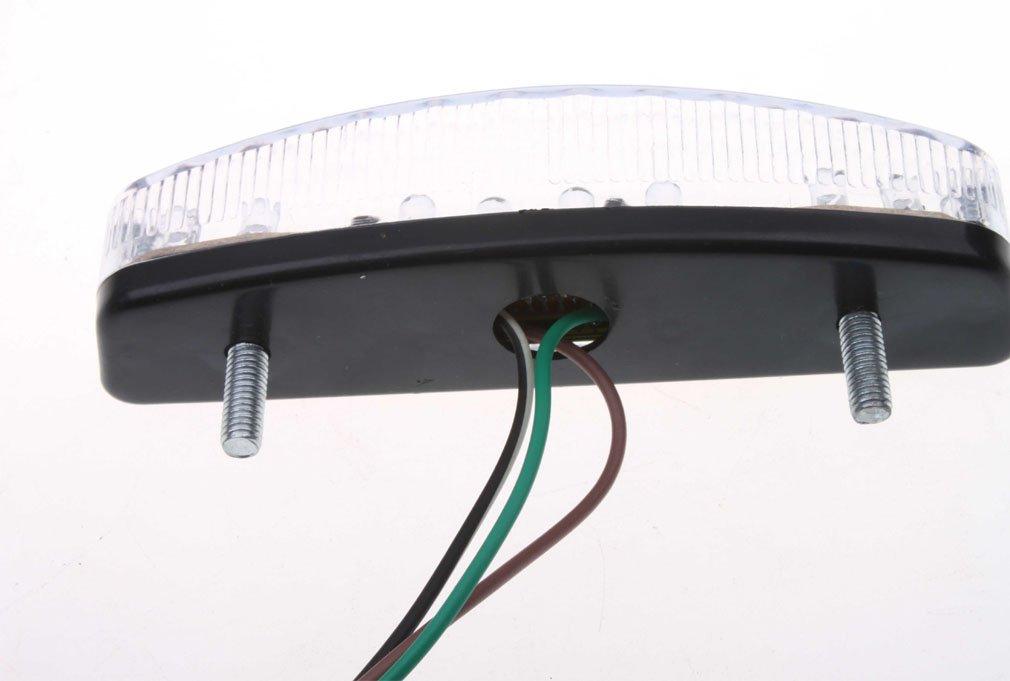 GOOFIT LED Rear Tail Brake Lights for 50cc 70 Cc 90cc 110cc 125cc 150cc ATV Quad TaoTao Roketa Baja Sunl Jonway