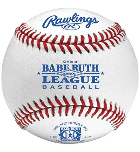 Grade Babe Ruth Raised Seam (Rawlings Official Babe Ruth League Baseball (Dozen))