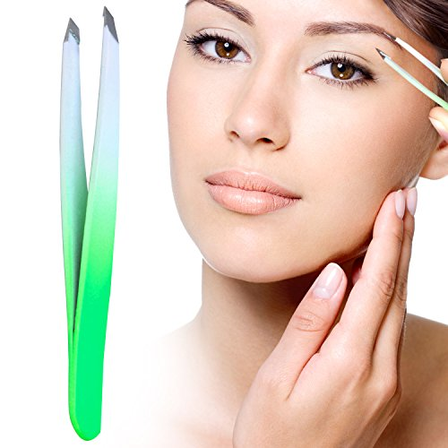 Boom Dream Eyebrow Tweezers - Precision Plucking for Eyebrow Shaping - Lifetime Promise - Professional Quality (Best Tweezers Of All Time)