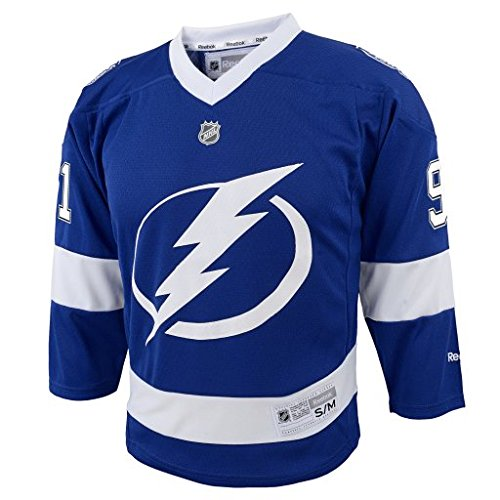 NHL Tampa Bay Lightning Boys Team Replica Player Jersey, Large/X-Large, (Tampa Bay Lightning Player)