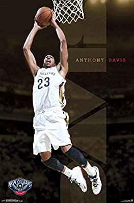 Anthony Davis New Orleans Pelicans NBA Basketball Sports Poster 22x34