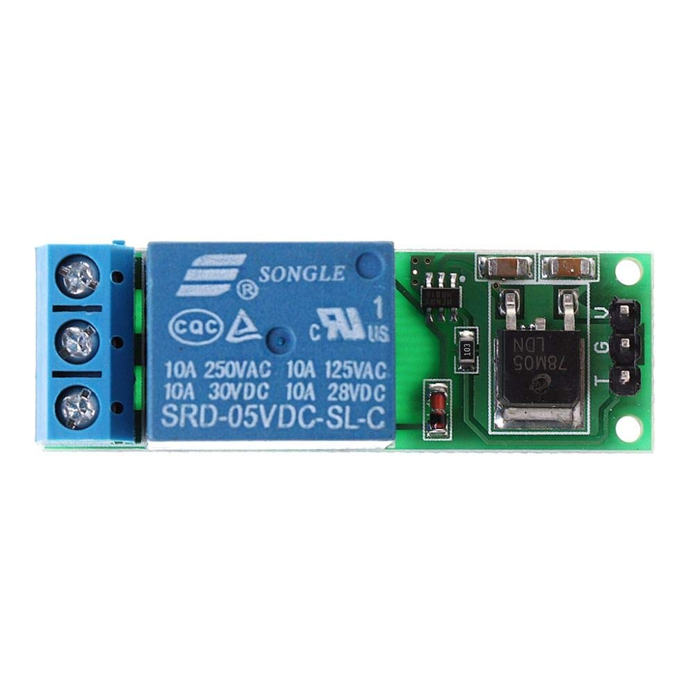 Relay Module 4 Channel Flip-Flop DC 12V Bistable Self-locking Relay Module Low Pulse Trigger Relay 6-24VDC