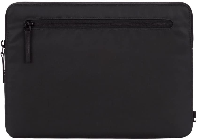 Incase Compact Foam Padded Flight Nylon Sleeve with Accessory Pocket for Most Tablets + Laptops up to 13 inches - Black