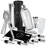 Best Bartender Kits - 19-Piece Cocktail Shaker Set and Bartender Kit Review