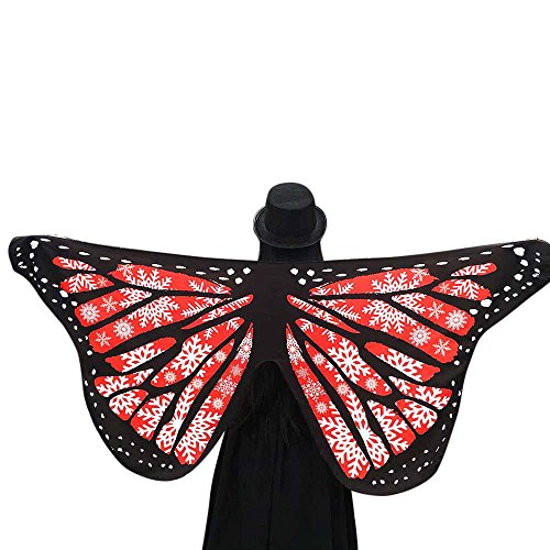 iQKA Adult Soft Butterfly Wings Adult Costume Accessory(AE,one