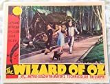 The Wizard of Oz Lobby Card 14 x 11 inches Judy Garland, Scarecrow, Lion, Tin Man, Toto #3