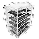 Sorbus Cosmetics Makeup and Jewelry Big Storage