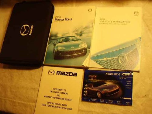 2006 Mazda MX-5 Miata Repair Shop Manual Original