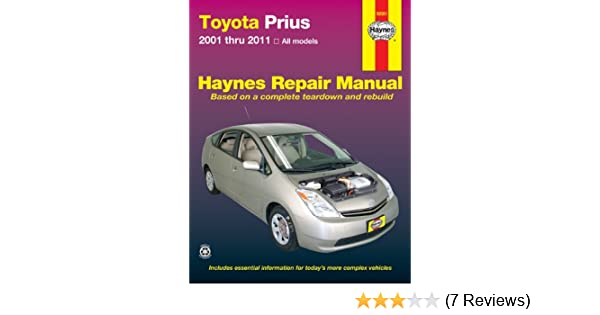 Toyota prius 2001 thru 2011 haynes repair manual ken freund toyota prius 2001 thru 2011 haynes repair manual ken freund 9781563929854 amazon books fandeluxe Image collections