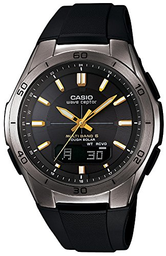 CASIO WAVE CEPTOR (WVA-M640B-1A2JF) 6 MULTI BANDS SOLAR MEN'S WATCH JAPANESE MODEL 2014 JULY RELEASED (Casio Wave)