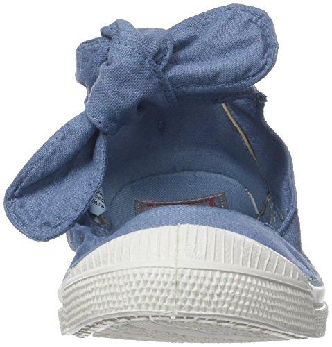 Denim Sneaker Flo Tennis Donna Blu Bensimon HwExvXYqx