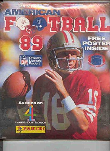 1989 PANINI UK ENGLAND NFL FOOTBALL SET & ALBUM DAN MARINO JOE MONTANA - Cheap Shop Uk