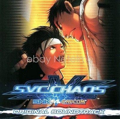 New 0093 SNK VS CAPCOM SVC CHAOS ORIGINAL SOUNDTRACK CD Song Music Game Anime