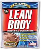 Labrada Nutrition Lean Body Meal Replacement Powder, Chocolate Ice Cream, 2.78-Ounce Packets (Pack of 80) by Labrada