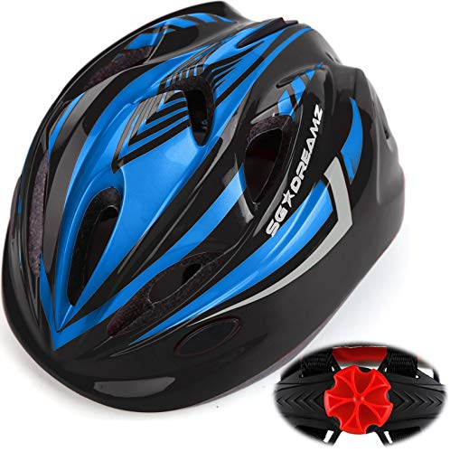 Kids-Bike-Helmet-for-Bicycle-Cycling-Skateboard-Scooter-Adjustable-Harness-from-Age-3-to-7-for-Head-Size-196-22-inch-Durable-Toddler-Kid-Bicycle-Helmets-Boys-and-Girls-Will-Love