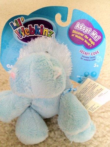 Lil' Webkinz Blue Elephant / Hippo by Ganz ()