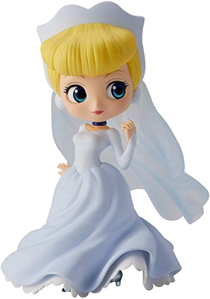 100/% Authentic Q posket Disney Characters Dreamy Style Normal Color Cinderella