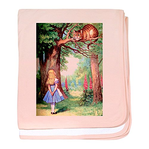 CafePress - Alice and The Cheshire Cat - Baby Blanket, Super Soft Newborn Swaddle -