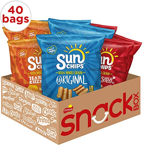 Sunchips Multigrain Chips Variety Pack, 40 Count