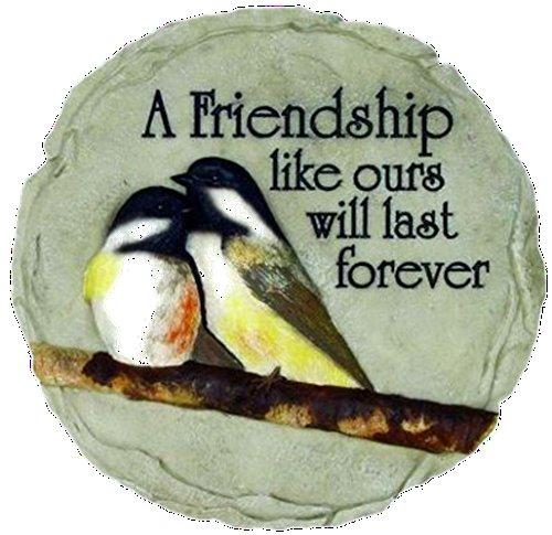 Spoontiques Garden, Bereavement Stepping Stones (Chickadee Friendship) ()