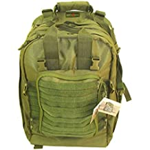 Explorer M2 Everyday Deluxe Carry Huge Military Corpsman Medic Hospital Tactical Backpack, 20 x 13 x 6-Inch