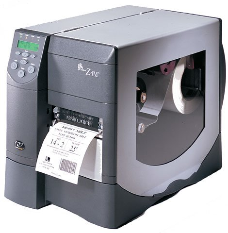 Zebra Z4M Barcode Label Printer - No Ribbon / Paper - Zebra 0000