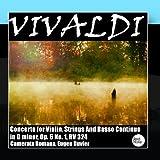 Vivaldi: Concerto for Violin, Strings And Basso Continuo in G minor, Op. 6 No. 1, RV 324