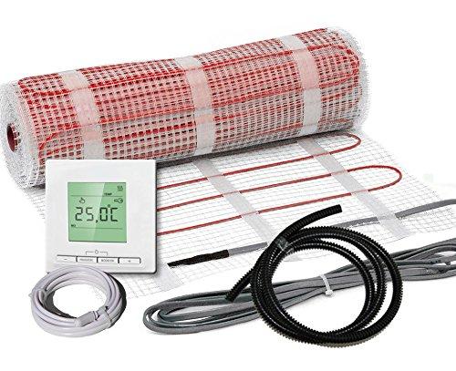 Elektrische Fußbodenheizung Komplett-Set BZ-150 plus (2 m² - 0.5 m x 4 m)