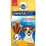 Pedigree Dentastix Original Small/Medium Treats For Dogs - 5.57 Oz. 10 Treats (Pack Of 7)