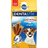 Pedigree Dentastix Original Small/Medium Treats For Dogs – 5.57 Oz. 10 Treats (Pack Of 7)