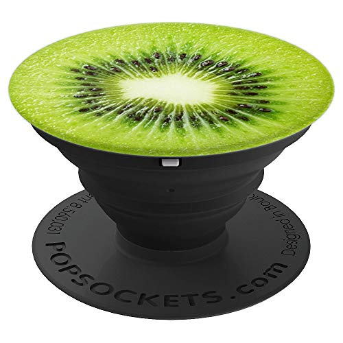 Cute Kiwi Slice Fruit | Green Fresh Fruit - PopSockets Grip and Stand for Phones and Tablets