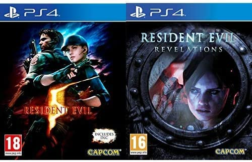Resident Evil 5 HD & Evil Revelations HD: Amazon.es: Videojuegos