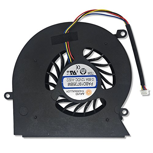 CBK New 4-Pins Laptop Cooling Fan for MSI GT62 GT62VR 16L1/1