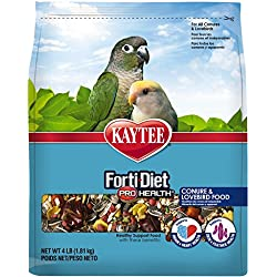 Kaytee Forti-Diet Pro Health Conure and Lovebird Food 4 lb