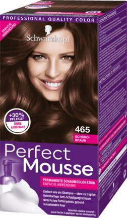 Schwarzkopf Perfect Mousse Permanent Hair Color 465 Choco-Brown -