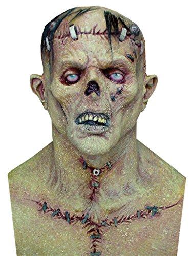 Frankenstein The Monster Deluxe Party Latex Adult Halloween Costume Mask (Deluxe Frankenstein Mask)