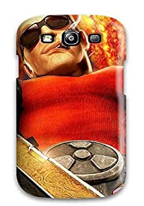 High Impact Dirt/shock Proof Case Cover For Galaxy S3 (duke Nukem Forever)