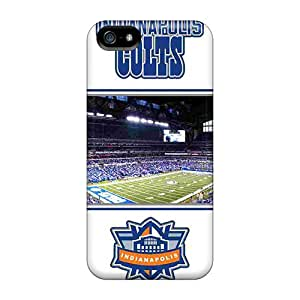 Great Hard Cell-phone Case For Iphone 5/5s (TUB18785GWlM) Customized Fashion Indianapolis Colts Pattern