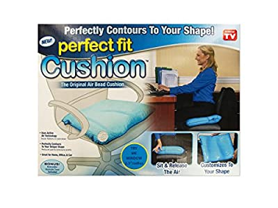 As Seen on Tv Perfect Fit Cushion. The Original Air Bed Cushion. Customize to Your Shape. Lifting Cushion.