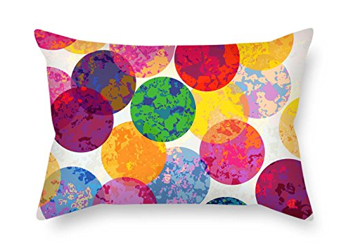 Wonderland Winter Roll Room (Pillow Cases Of Circle 20 X 30 Inches / 50 By 75 Cm Best Fit For Girls Bench Gril Friend Play Room Coffee House 2 Sides)