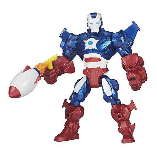 Marvel Super Hero Mashers Iron Patriot Figure