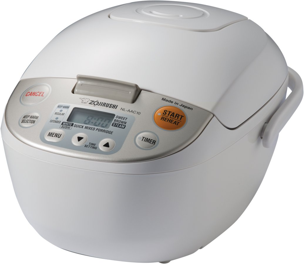 Zojirushi NL-AAC10 Micom Rice Cooker (Uncooked) and Warmer, 5.5 Cups/1.0-Liter