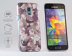 Funda Carcasa dura para Samsung Galaxy S5 mini - Patrón floral