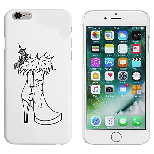 Blanc 'Botte de Chaussure' étui / housse pour iPhone 6 & 6s (MC00003554)
