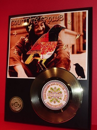 Counting Crows 24Kt Gold Record LTD Edition Display Gold Record Outlet
