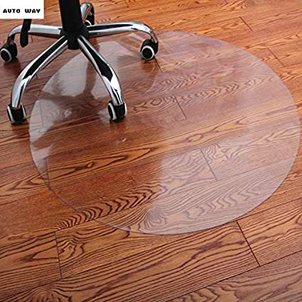 Amazoncom Haga Computer Chair Mat Wooden Floor Protection Pad Pvc