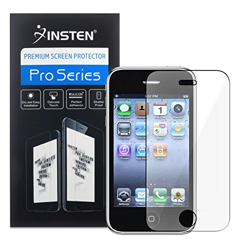 3 PACK Apple iPhone 3G Screen Protector with Cleaning Cloth (Screen Iphone 3g Clear)
