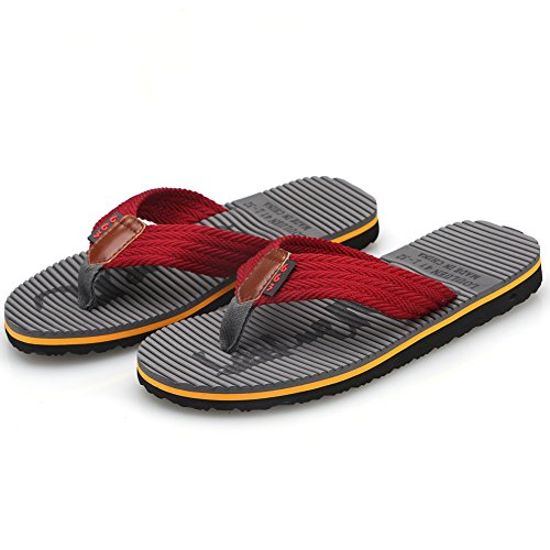 27f2bedcdc73d CIOR Men s Handmade Fashion Beach Slipper Indoor and Outdoor Classical Flip-Flop  Thong Sandals