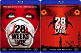28 Days Later + 28 Weeks Later Apocalypse Viral Horror Movie Set Double Feature Danny Boyle