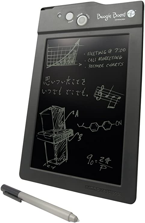 Boogie Board Rip Lcd Writing Tablet Black Computers Accessories